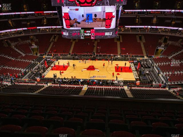 United Center Section 334 view