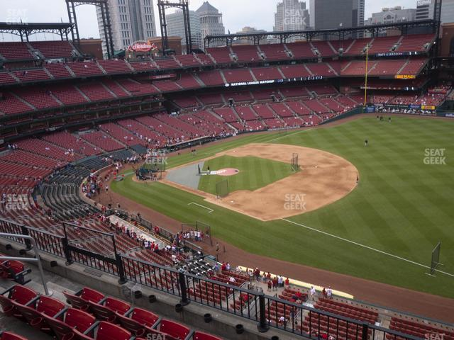 Busch Stadium First Base Pavilion 337 view