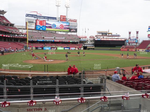 Great American Ball Park Scout Box 25 view