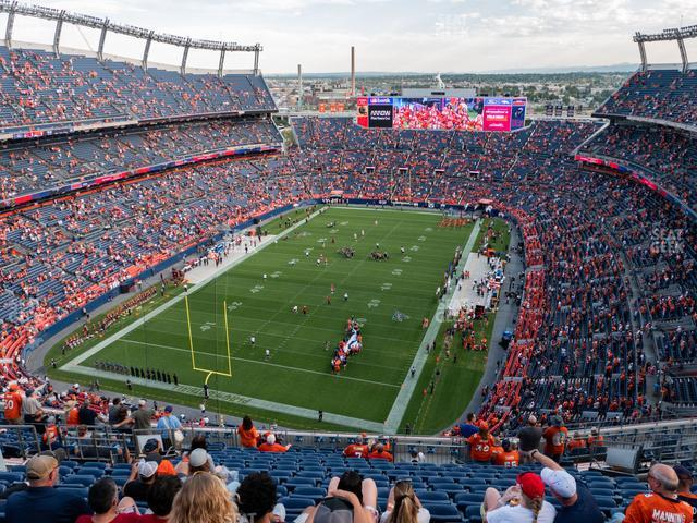 Empower Field at Mile High Section 518 view