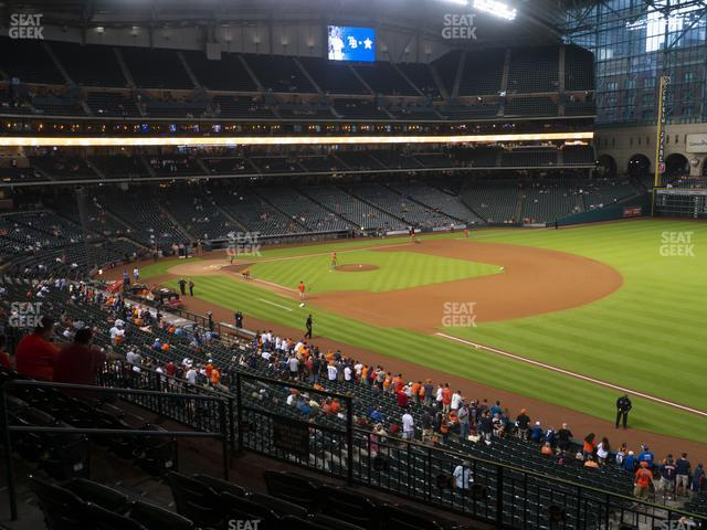 Minute Maid Park Section 231 view