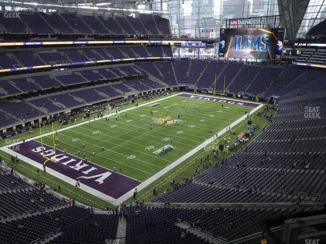U.S. Bank Stadium Section 320 view