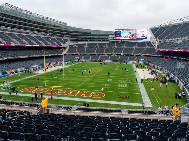Soldier Field Section 250 view