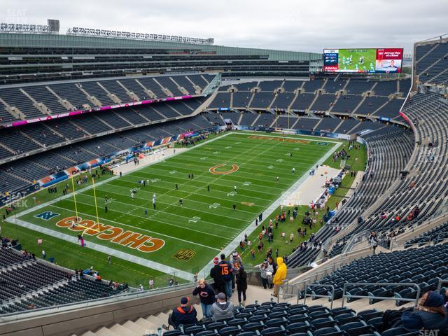 Soldier Field Section 446 view