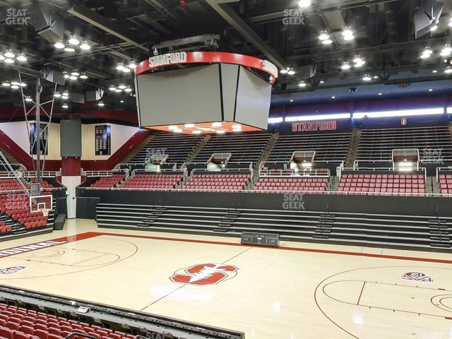 Maples Pavilion Section 4 view