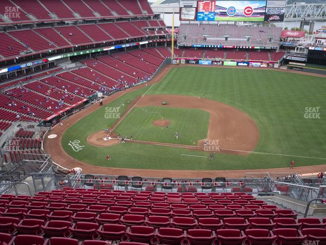 Great American Ball Park Section 530 view