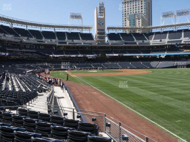 Petco Park Section 123 view