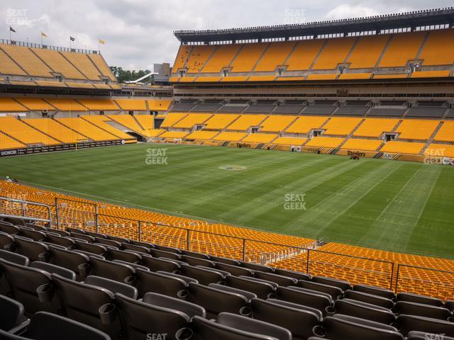 Heinz Field Section 238 view