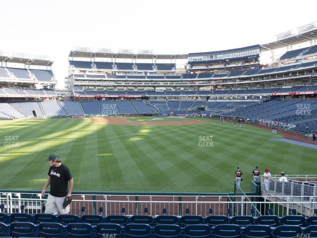 Nationals Park Section 102 view