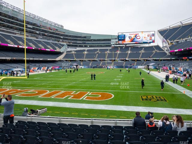 Soldier Field Section 150 view