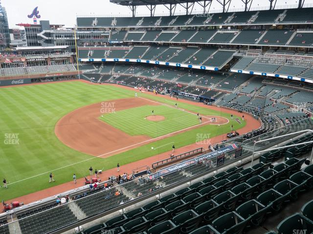 SunTrust Park Section 337 view