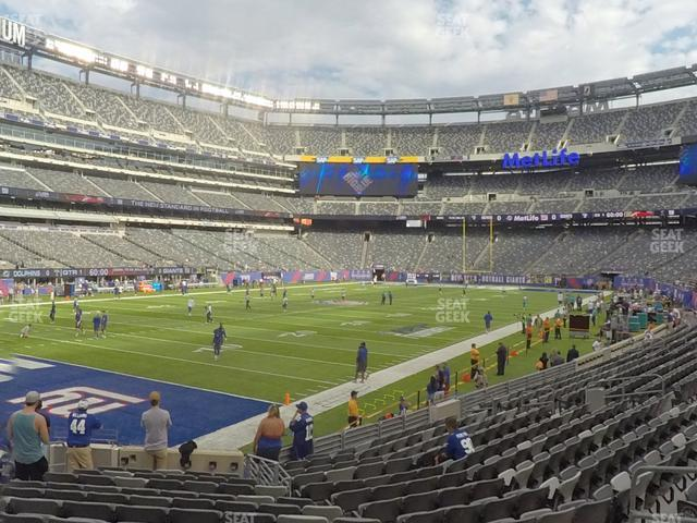 MetLife Stadium Section 146 view