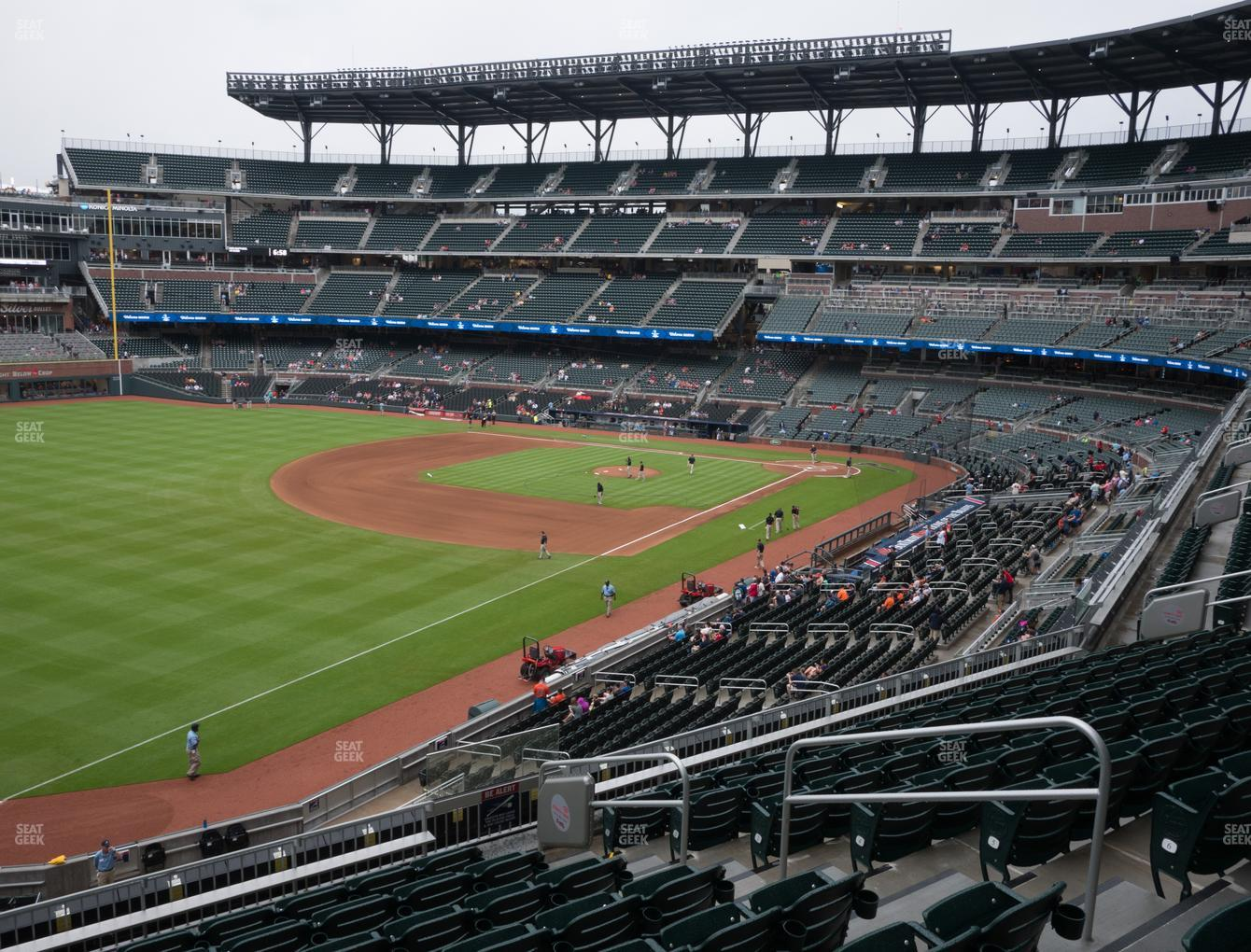 Atlanta Braves at SunTrust Park Section 241 View