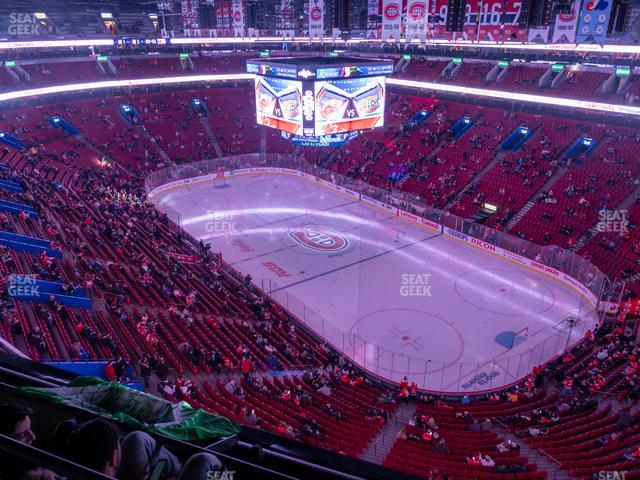 Bell Centre Section 332 view