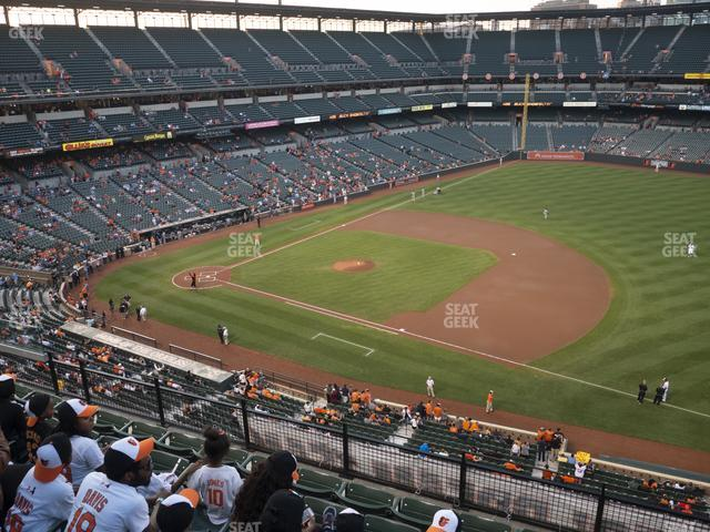 Oriole Park at Camden Yards Section 316 view