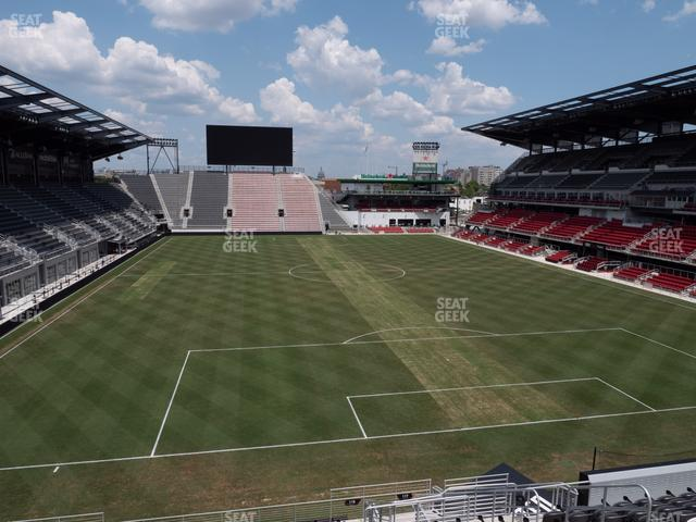 Audi Field Section 118 view