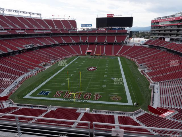 Levi's Stadium Section 302 view