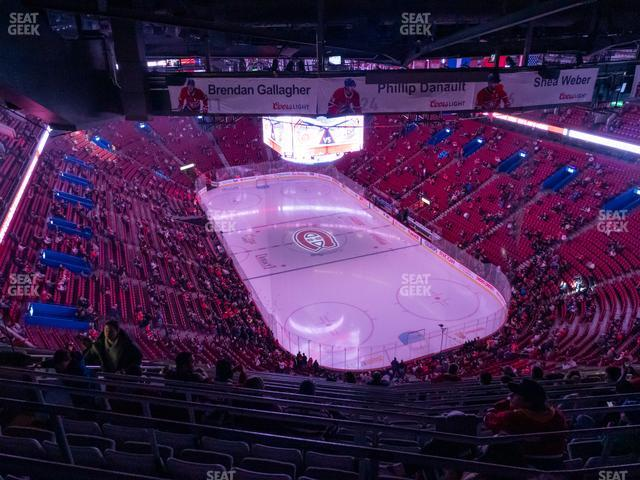 Bell Centre Section 412 view
