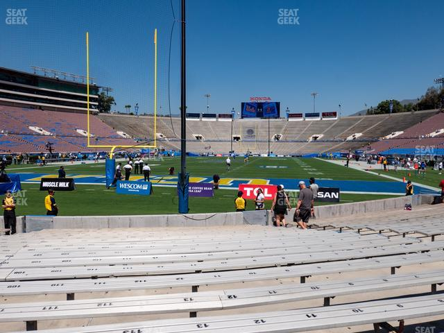 Rose Bowl Lower 26 H view