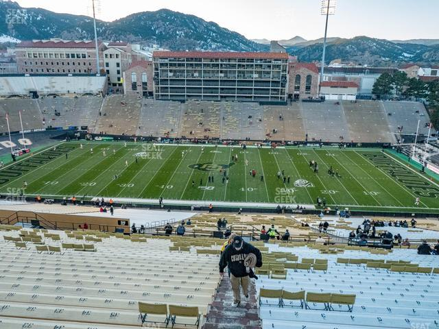 Folsom Field Section 571 view