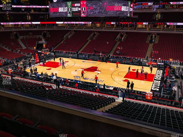 United Center Section 233 view