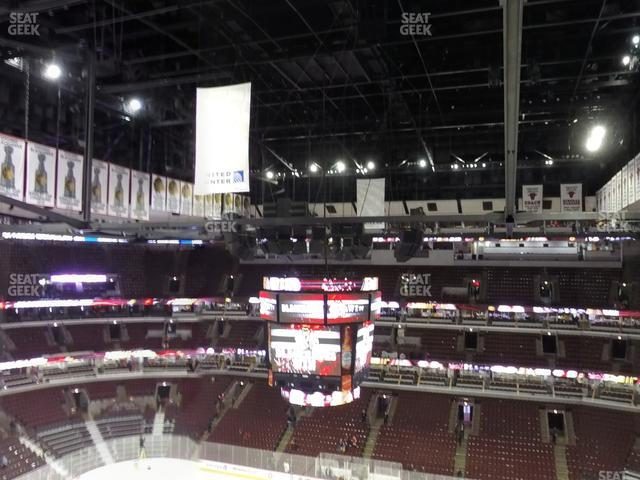 United Center Section 333 view