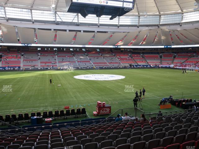 BC Place Stadium Section 216 view
