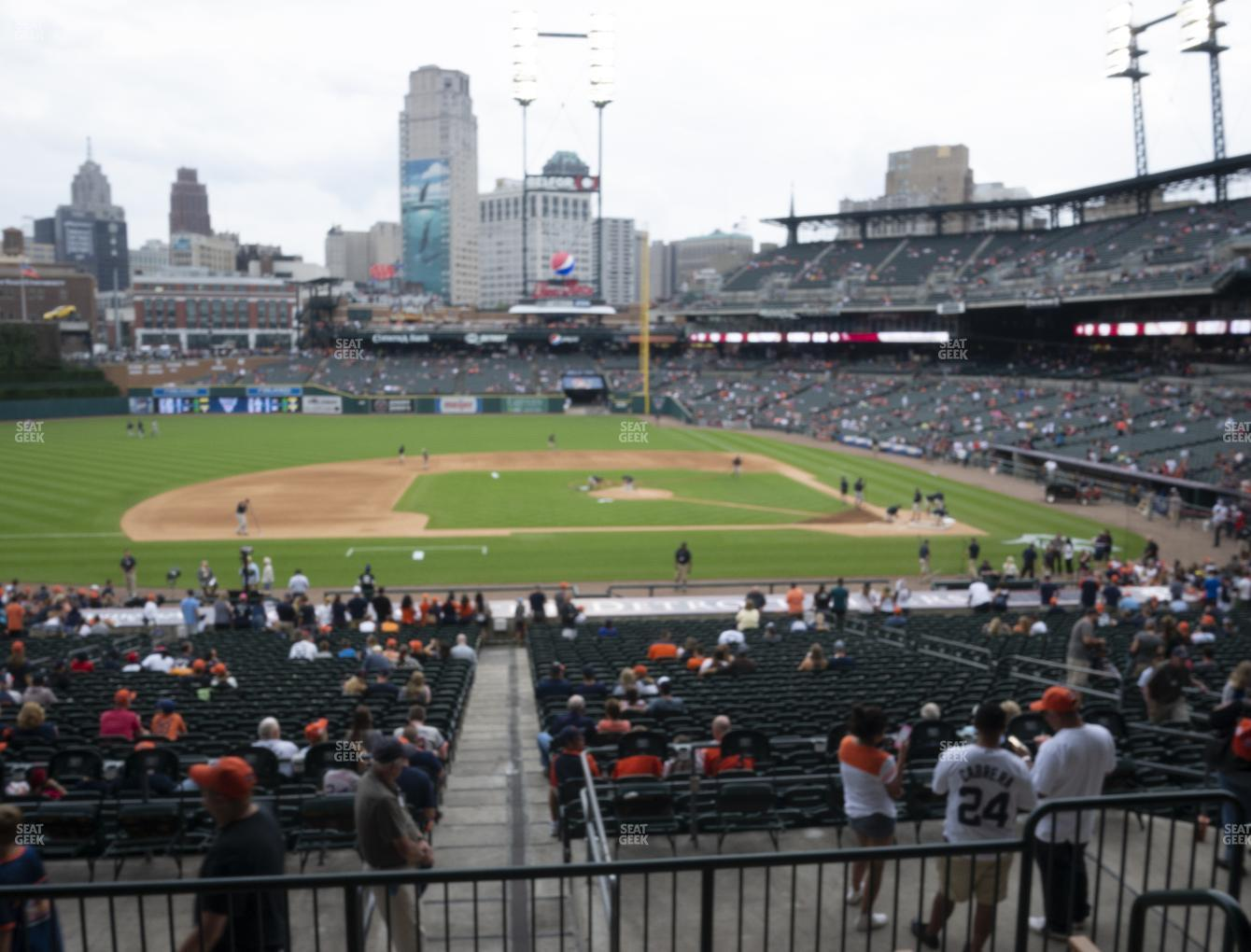 Detroit Tigers at Comerica Park Section 134 View