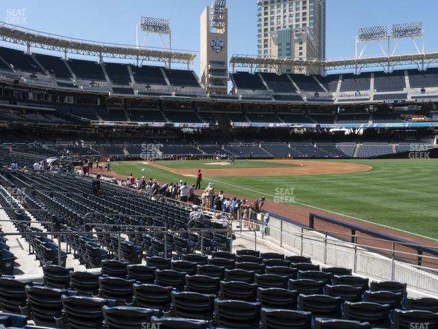 Petco Park Section 121 view