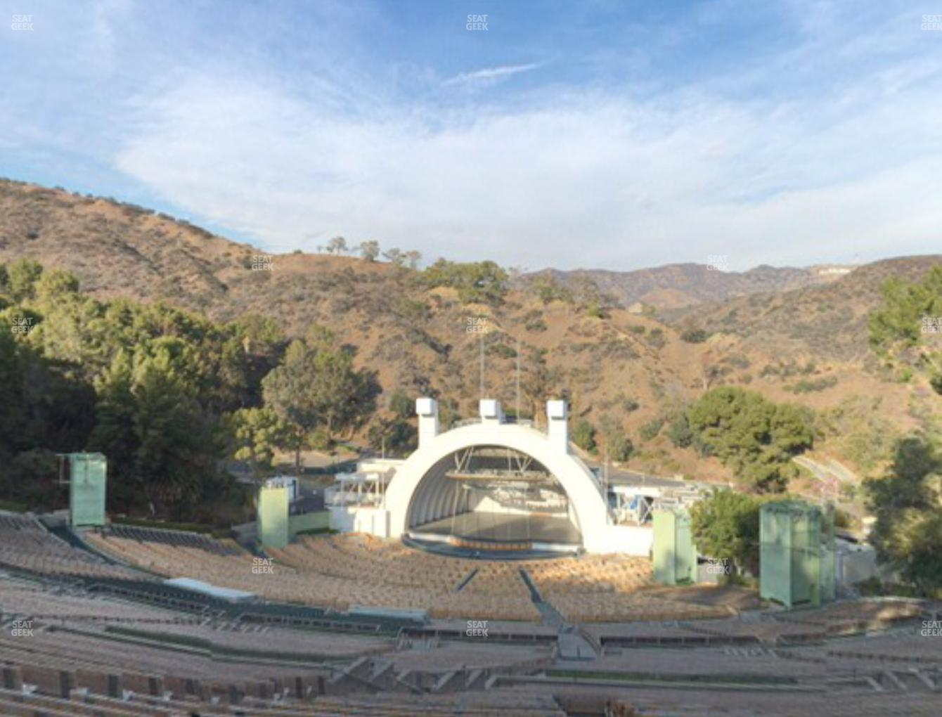 Concert at Hollywood Bowl Section V 2 View