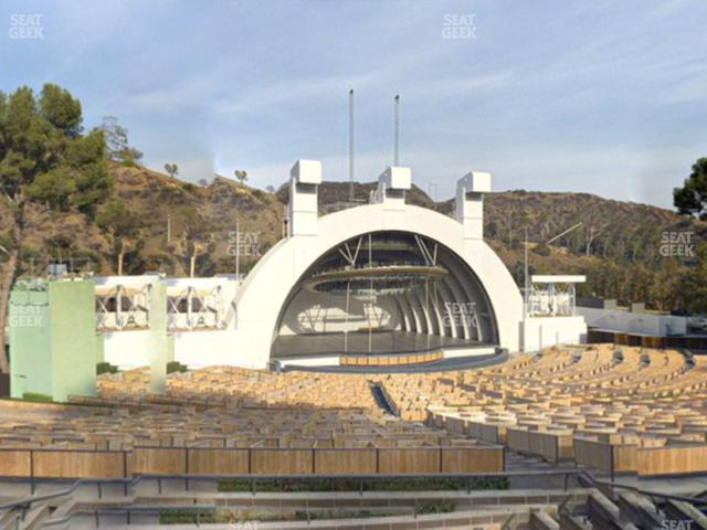 Hollywood Bowl Section K 1 view