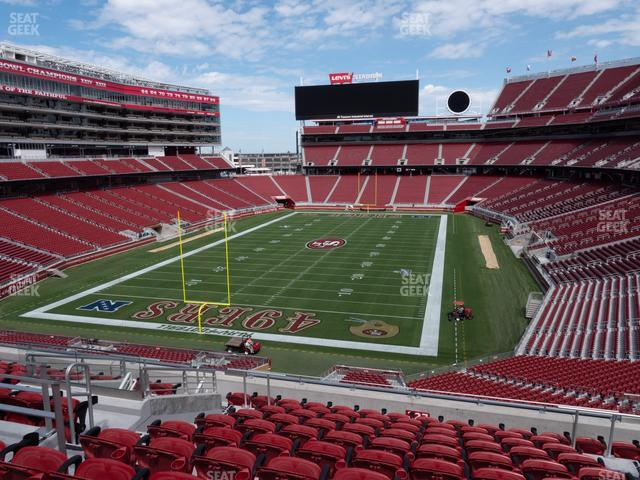 Levi's Stadium Section 227 view