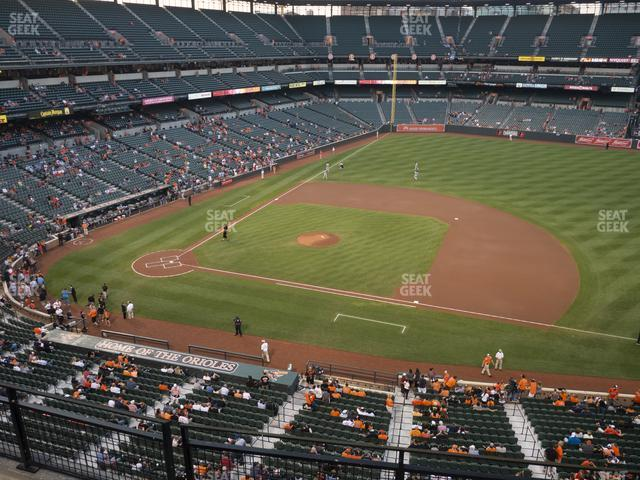 Oriole Park at Camden Yards Section 320 view