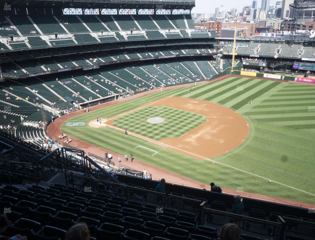 Seattle Mariners at T-Mobile Park Section 318 View