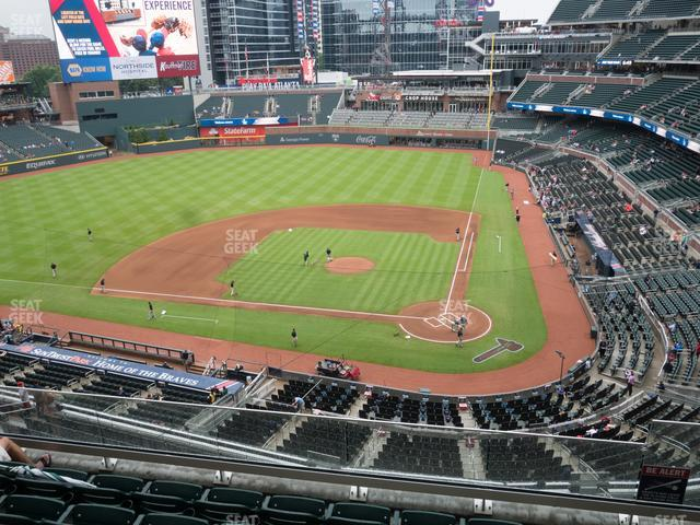 SunTrust Park Section 329 view