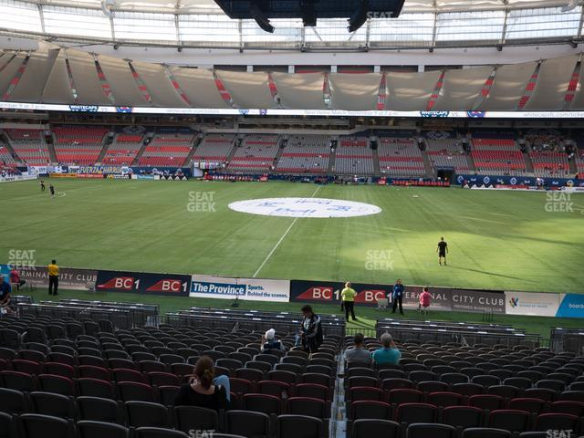 BC Place Stadium Section 241 view