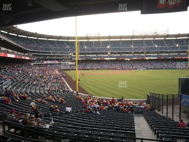 Angel Stadium of Anaheim Section 233 view