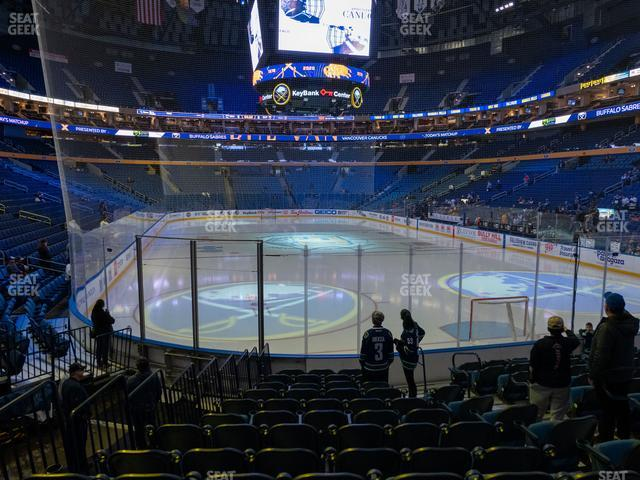 KeyBank Center Section 112 view
