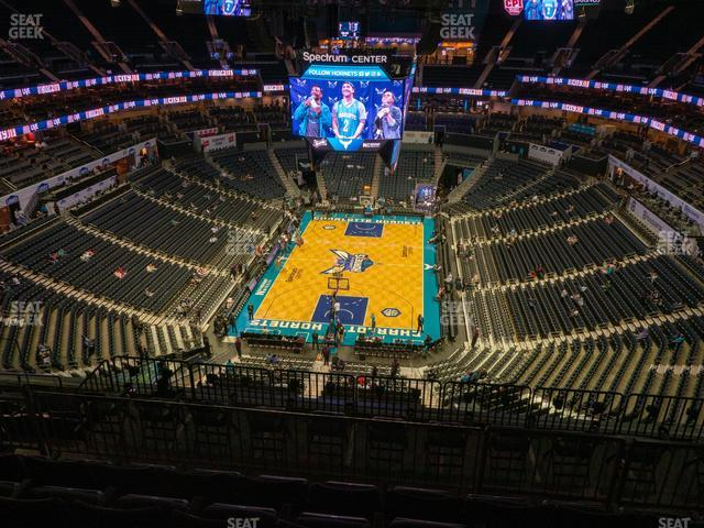 Spectrum Center Section 233 view