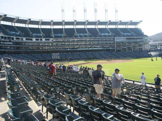 Progressive Field Section 125 view