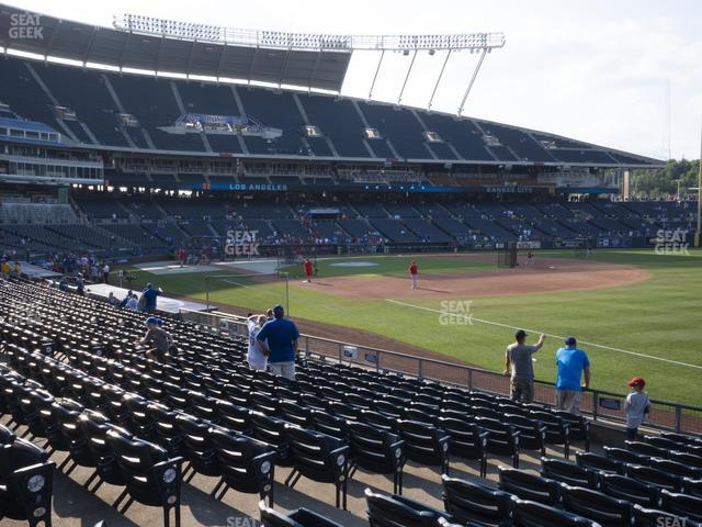Kauffman Stadium Section 142 view