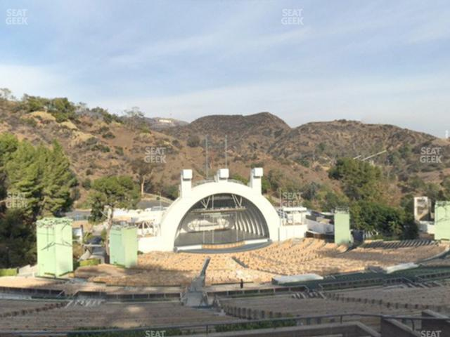 Hollywood Bowl Section U 1 view