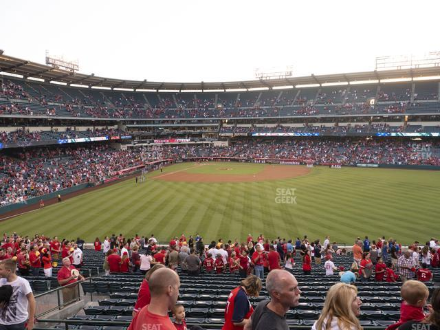 Angel Stadium of Anaheim Section 246 view