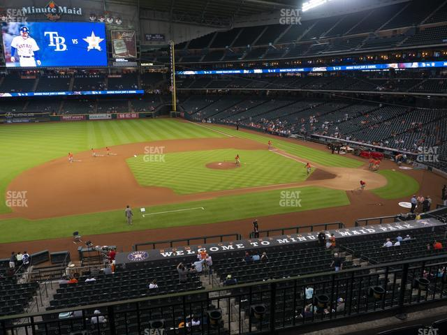 Minute Maid Park Section 212 view