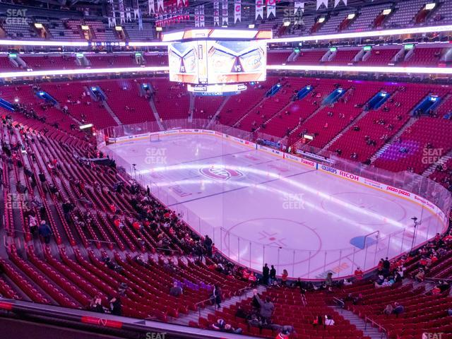 Bell Centre Section 209 view