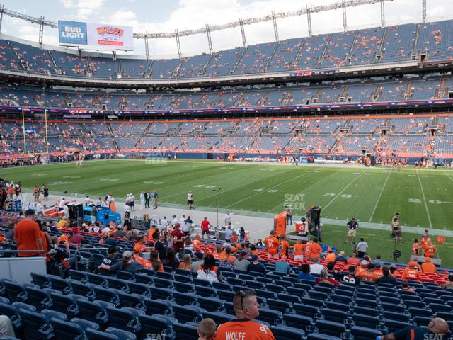 Empower Field at Mile High Section 103 view