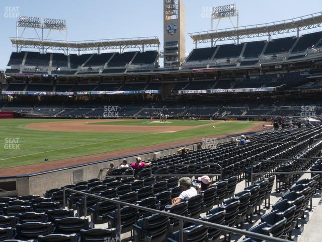 Petco Park Section 120 view