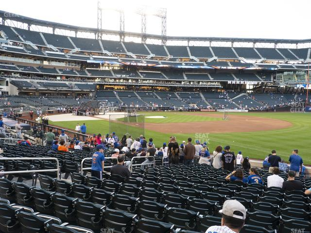 Citi Field Section 108 view