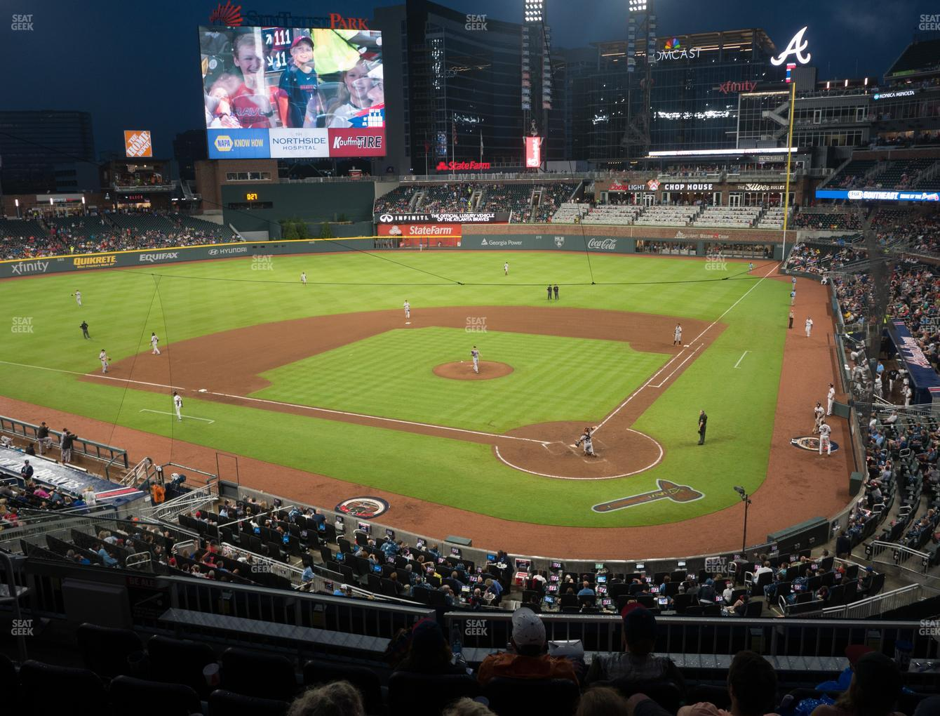 Atlanta Braves at Truist Park Section 228 View