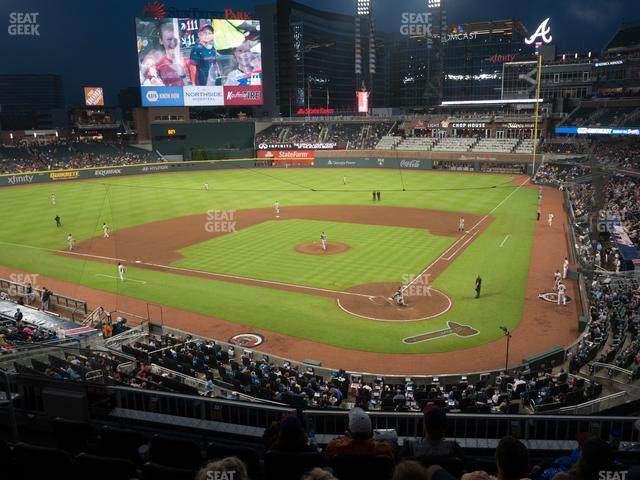 SunTrust Park Section 228 view